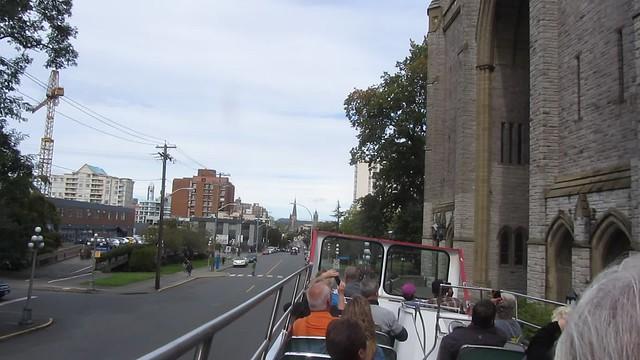 MVI_6368 Victoria BC sightseeing tour double decker bus