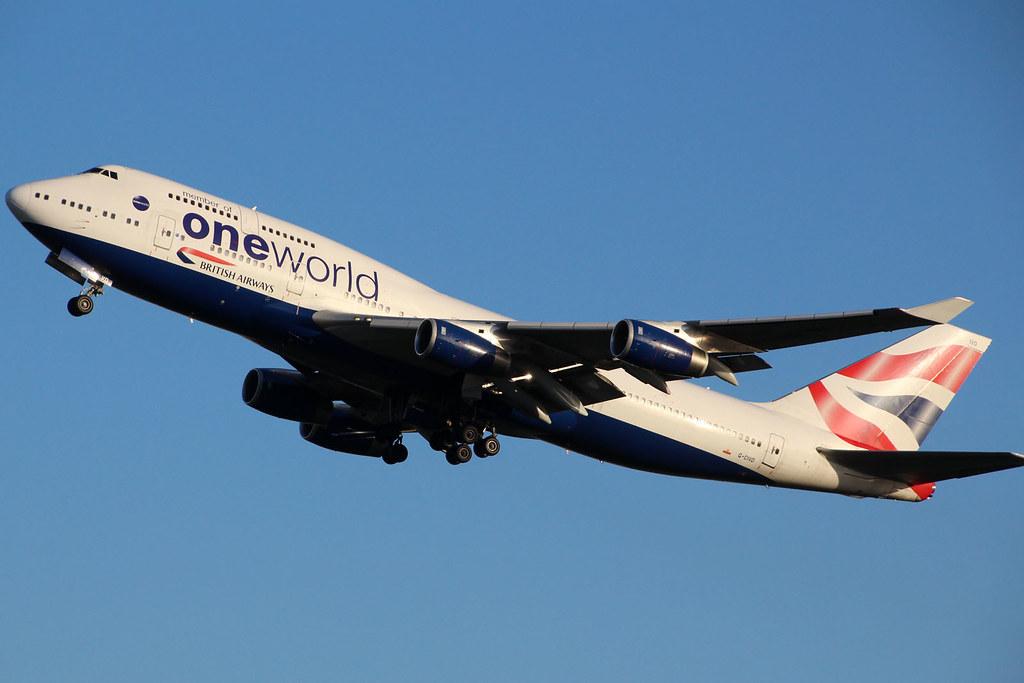 British Airways G-CIVD