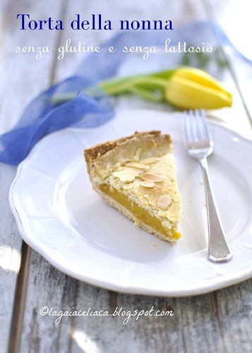 torta della nonna senza glutine e lattosio V | by mammadaia