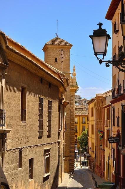 Granada : Calle Cárcel Alta