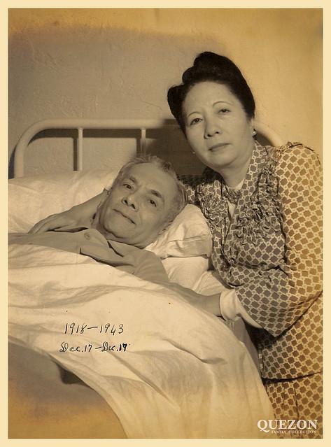 25th wedding anniversary of Manuel L. Quezon and Aurora Quezon.