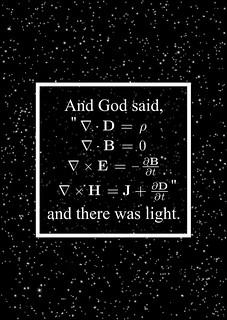 And God Said (Maxwell Equations)