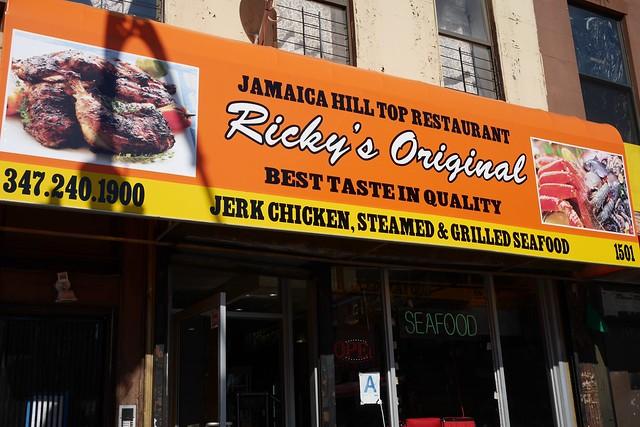 日, 2016-02-28 13:12 - Ricky's Eat Well Jamaican Restaurant
