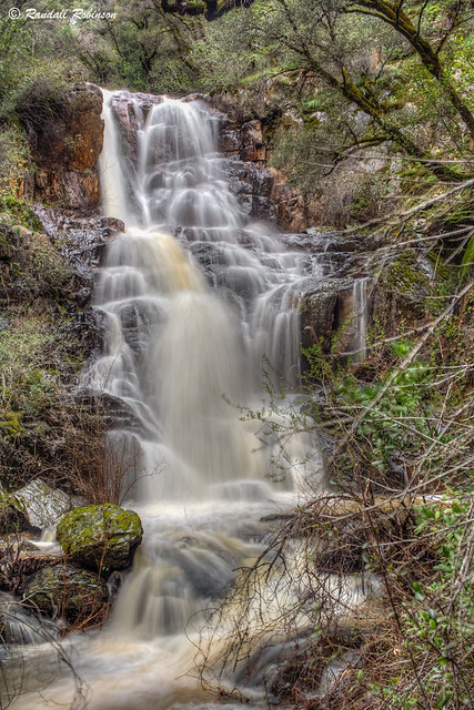 Lower Kenebec Creek Falls