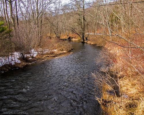 trees winter water canon river landscape outside outdoors newjersey powershot wintertime rockaway g12 rockawayriver smack53