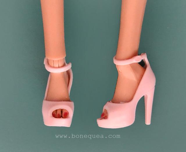 Poppy Parker & Sweet Tea Barbie shoes