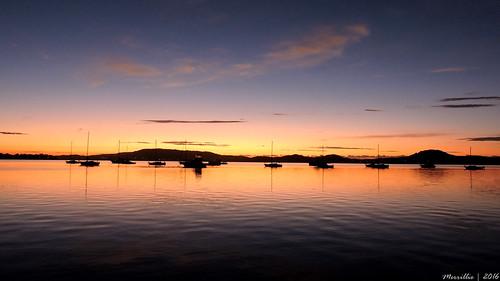 pink sea sky water sunrise reflections boats dawn bay nikon marine scenery waterfront silhouettes australia views nsw coolpix daybreak tascott brisbanewater p600 seaviews koolewong nswcentralcoast centralcoastnsw