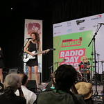 Fri, 18/03/2016 - 5:25pm - Hinds  Live at SXSW Radio Day Stage Powered By VuHaus, 3/18/16 Photographer: Michael Sperling