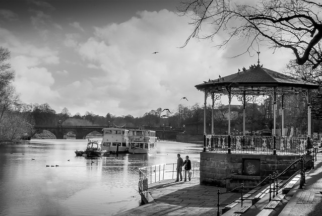 River Dee Chester, England.