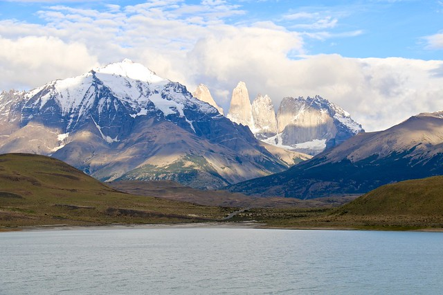 Paine massif, Torres del Paine National Park, Chile