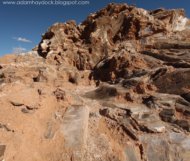 Cathedral Valley-Selenite Mound