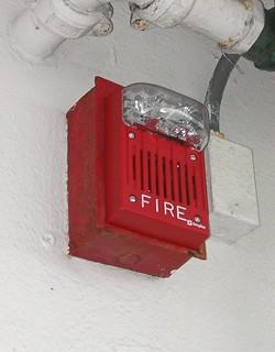 Simplex Fire Alarm Speaker/Strobe | Picture taken in Fort La