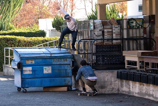 Dumpster Boarding