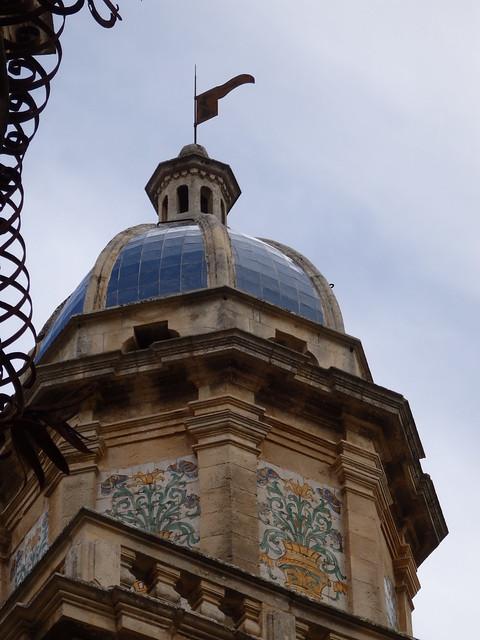 Blue dome, Santa Maria dell'Itria, Ragusa Ibla