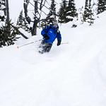 Skis like Brad