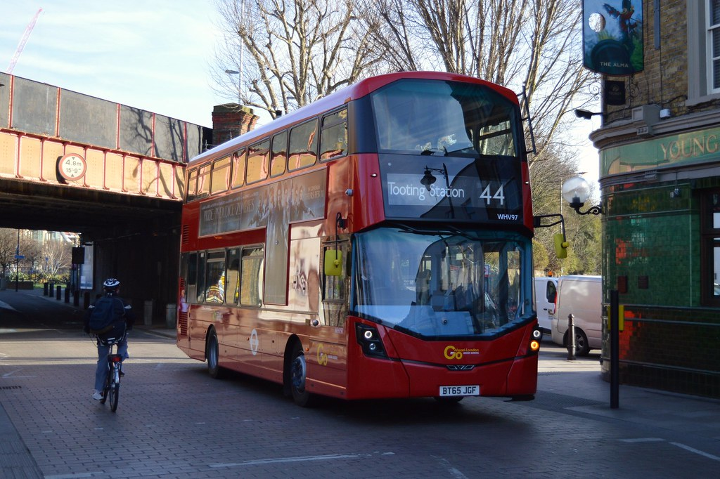 S44 Bus Time >> London General Whv97 Route 44 Wandsworth I Live Near T Flickr