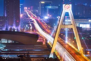 Chengdu south bridge by plej_photo - 乐让菲力