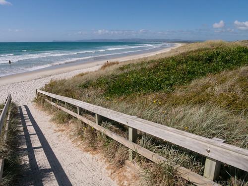 newzealand holiday beach sand travels surf northland 2016