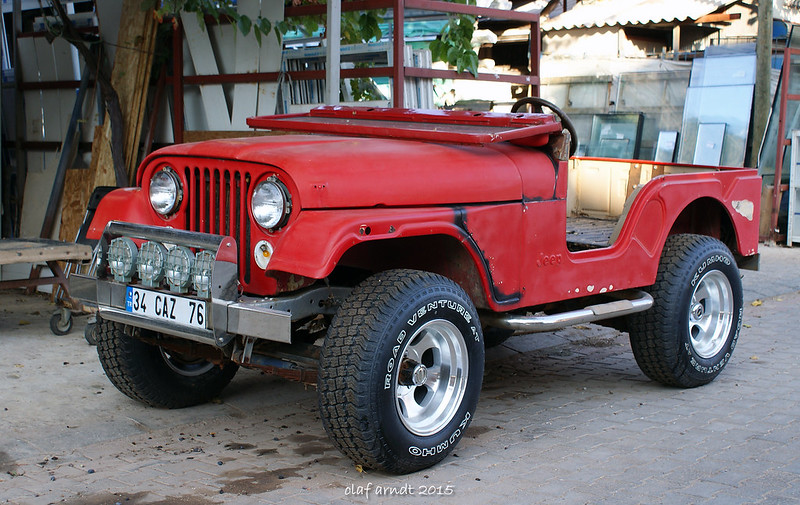 jeep willys 1960 front