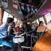 Bussikontsert Hansabuss Telliskivi linnaväljakul