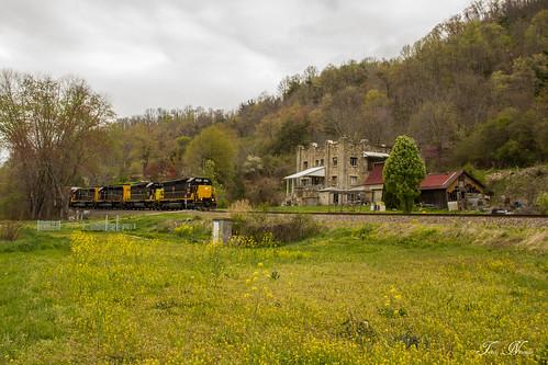 railroad blue train north ridge southern carolina local freight canton manifest sd45 emd sd402 shortline