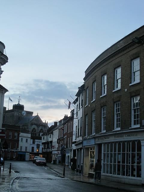 Market Place (road), Romsey SWC Walk 58 Mottisfont and Dunbridge to Romsey taken by Karen C.