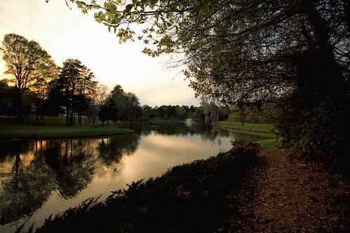 sunset reflections landscape us spring northcarolina inmybackyard heatherlock dorameulman spring2016