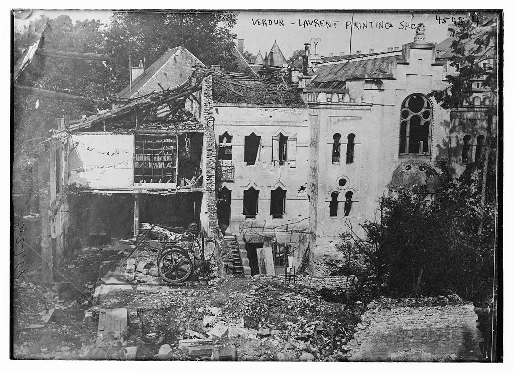 Verdun - Laurent printing shop (LOC)