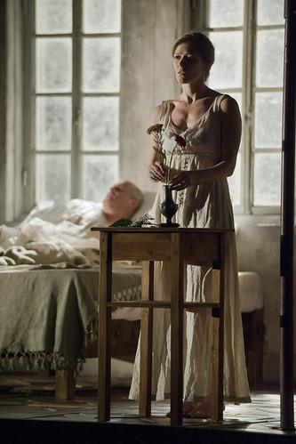 Barbara Hannigan in action.