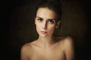 Portrait - model: Nastya Lokteva photo by: Maxim Maximov