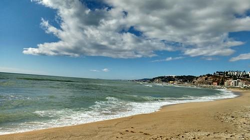 Playa picordia un día precioso