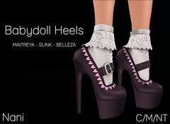Babydoll Heels @ Kinky Monthly