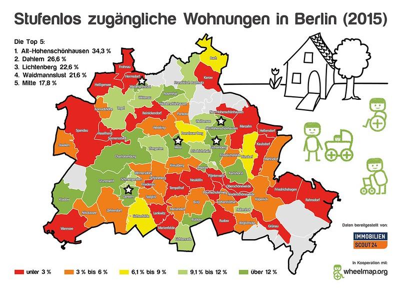 Stufenlos zugängliche Wohnungen in Berlin (2016)