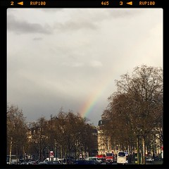 Rainbow in Paris #rainbow #arcenciel #paris #parisnow