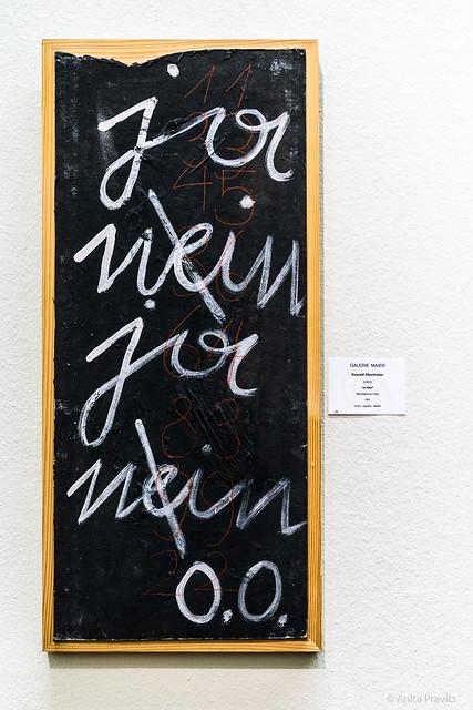 Oswald Oberhuber: Ja Nein / Yes No, 1951