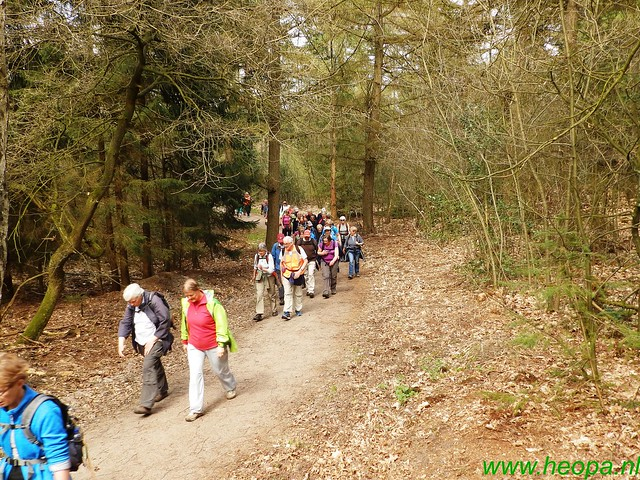 2016-04-12         2 daagse Lunteren      1e dag  25 Km  (115)