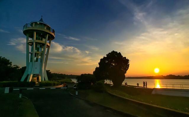 Evening at Upper Seletar Reservoir, Singapore!