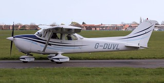 Cessna F.172-N G-DUVL Lee on Solent Airfield 2016 | by SupaSmokey