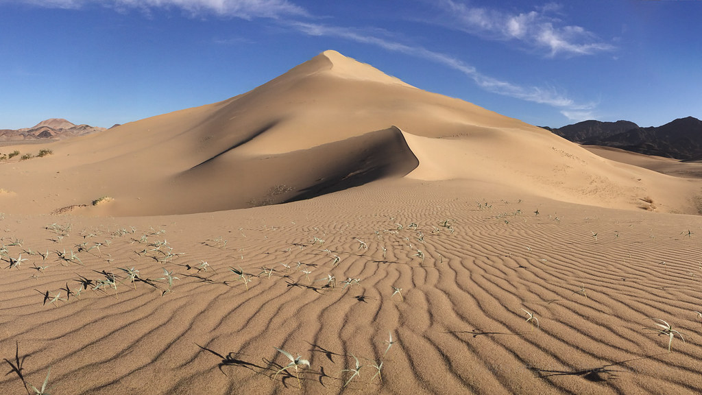 Spring Comes To Dunes >> Sand Dunes Spring Panorama An Iphone Panorama From One Of Flickr