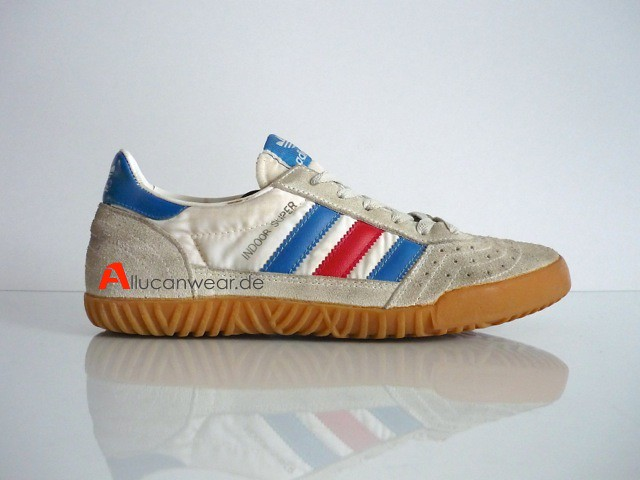VINTAGE ADIDAS INDOOR SUPER SPORT SHOES | made in taiwan