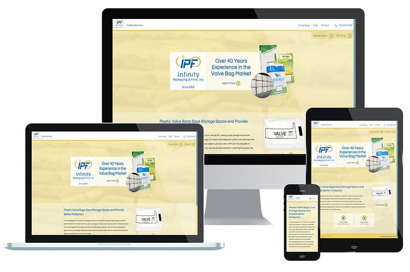 Website Design Infinity Packaging & Films