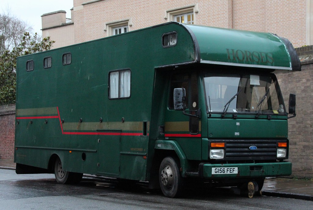 g156 fef 2 1990 iveco ford cargo 0813 newcomer 4. Black Bedroom Furniture Sets. Home Design Ideas