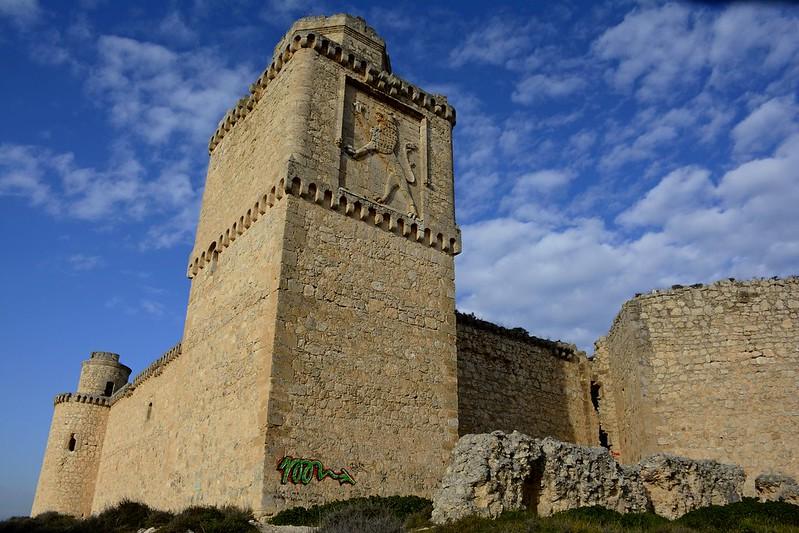 Castillo de Barcience, Toledo, 2015