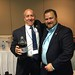 """Erik Grunwald and Steven Nelson tending bar at the hospitality suite.Photo credits: Bart ClearyMore information: <a href=""""http://northraleighrotary.org/2016-district-conference"""" rel=""""noreferrer nofollow"""">northraleighrotary.org/2016-district-conference</a>"""