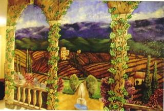 1 -Formal Vineyard Scene | by Swan Studios Inc