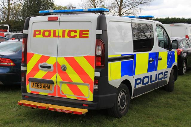 Cambridgeshire Police New Vauxhall Vivaro Station Van