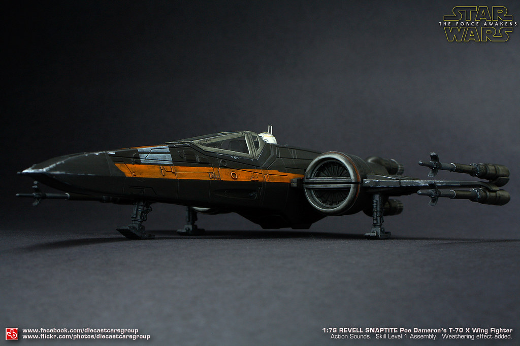 Star Wars T-70 X-Wing Fighter | This is Revell's 1:78 plasti