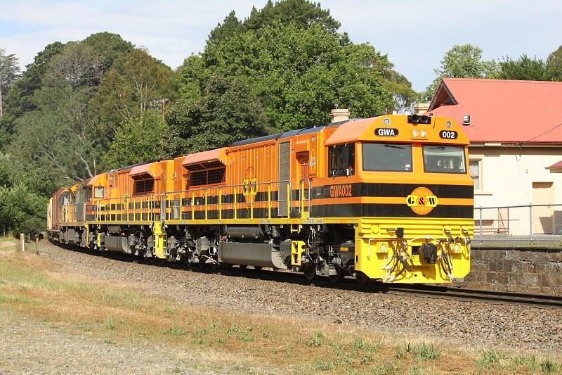 GWA locos on QR service by David Arnold
