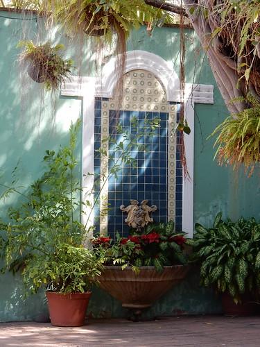 Mazatlan - binnenplaats