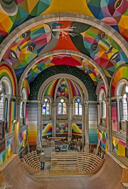 Iglesia del Skate (Una iglesia muy peculiar)
